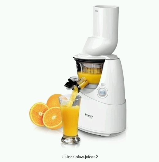 Kuvings Whole Slow Juicer White : ???????? ????????????? Kuvings Whole Slow Juicer B6000W White